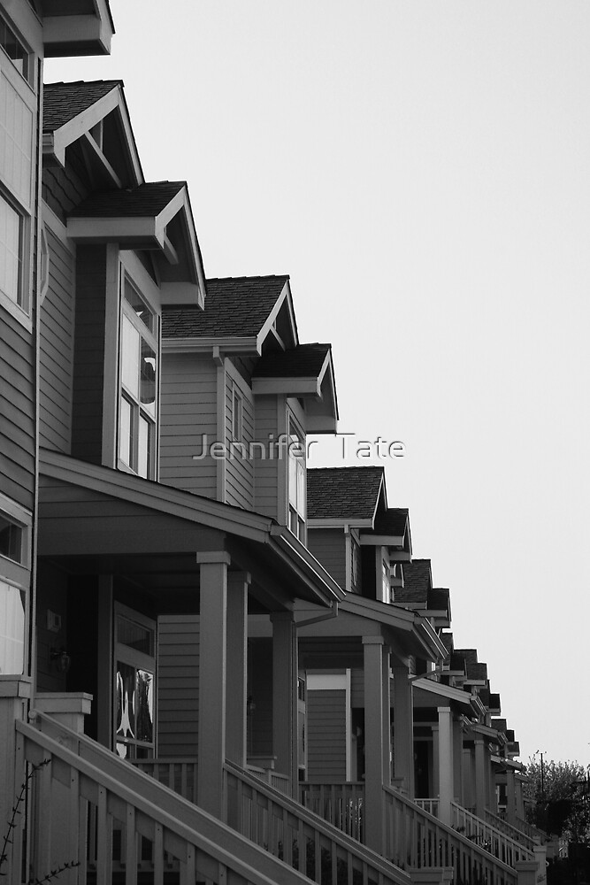 ALL IN A ROW by Jennifer  Tate
