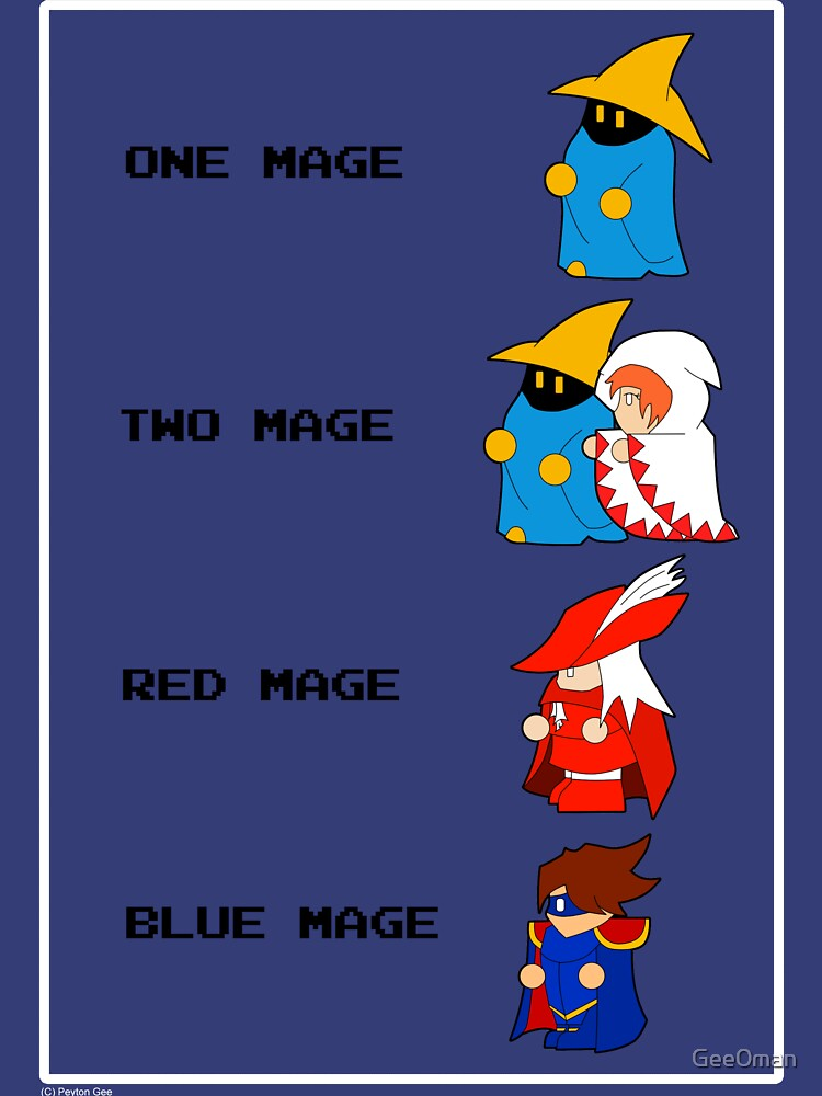 One Mage Two Mage... | Unisex T-Shirt