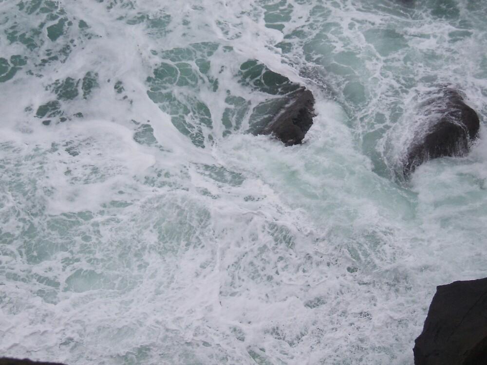 Swirling rock by pedanticnerd