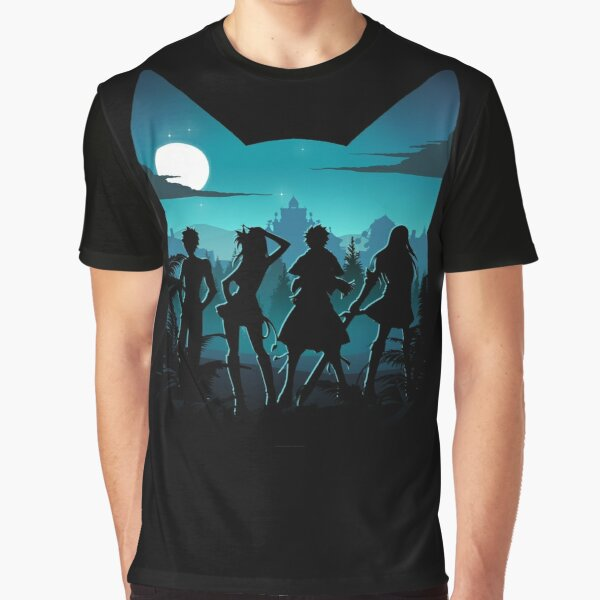 Happy Silhouette Graphic T-Shirt