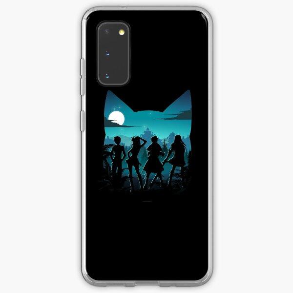 Happy Silhouette Samsung Galaxy Soft Case