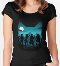 Happy Silhouette Women's Fitted Scoop T-Shirt