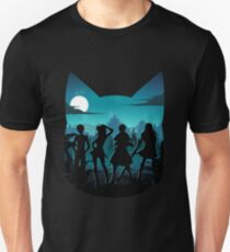 Happy Silhouette Slim Fit T-Shirt