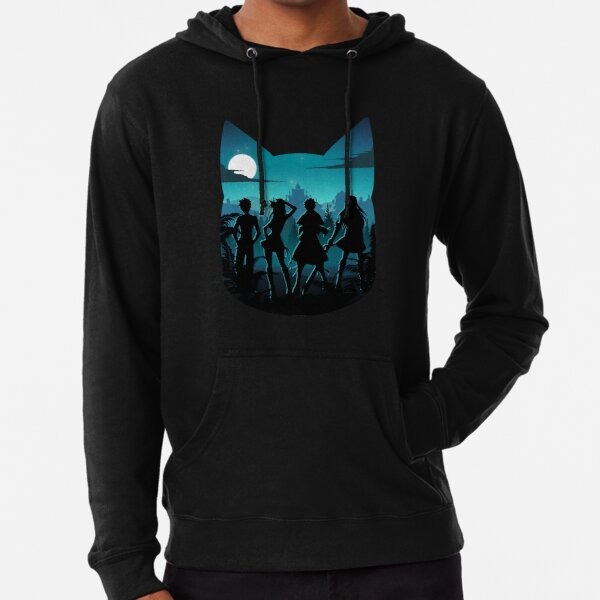 Happy Silhouette Lightweight Hoodie
