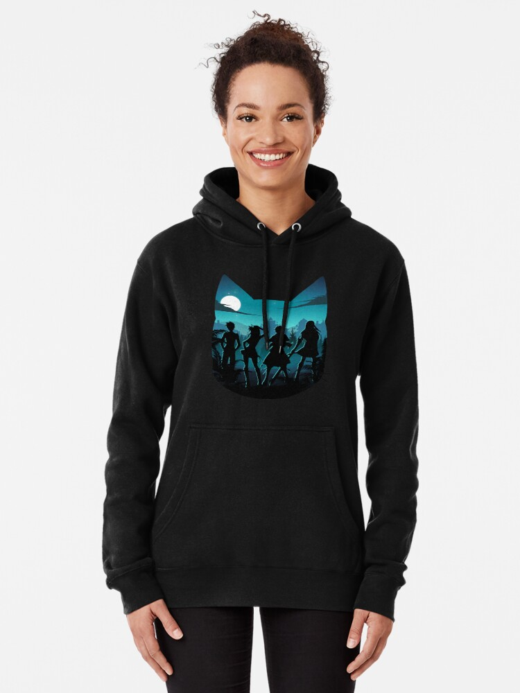 Alternate view of Happy Silhouette Pullover Hoodie
