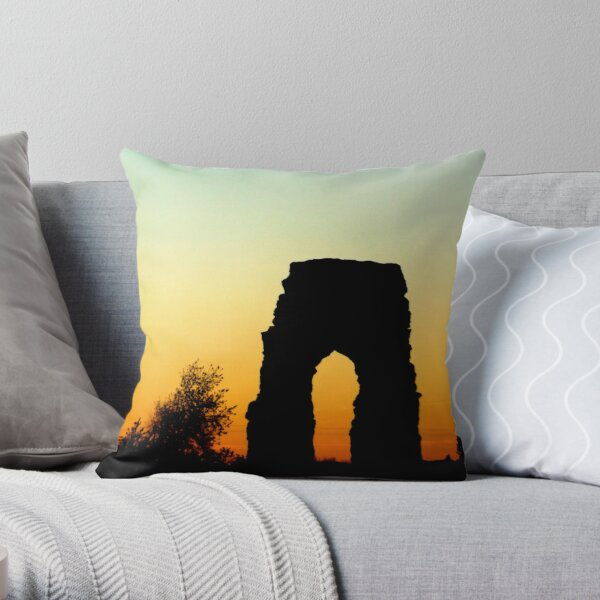Photography sunset italian landscape Throw Pillow