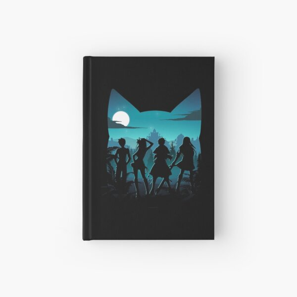 Happy Silhouette Hardcover Journal