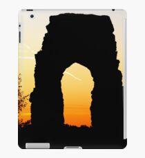 Landscape photography sunset arc building iPad Case/Skin