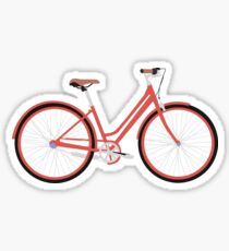 Vintage Bike | Vector Art Sticker