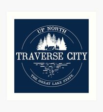 Traverse City Art Print