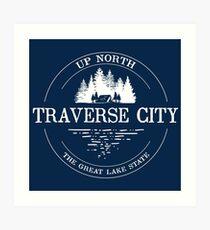 Traverse City Art Print