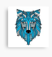All Fur One / Wolf Canvas Print