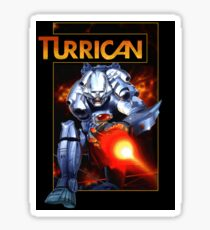 Turrican (Box Art) Sticker