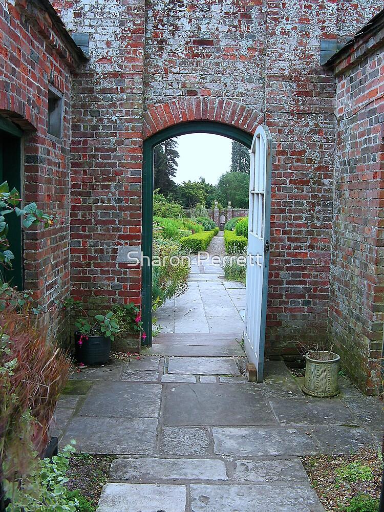 The Dutch Garden 1 by Sharon Perrett