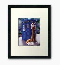 Dr. Who Fox Framed Print