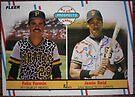 297 - Felix Fermin | Jessie Reid by Foob's Baseball Cards