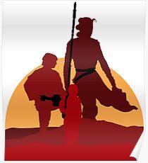 Star Wars Heroes Poster