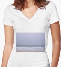 Stolen horizon Women's Fitted V-Neck T-Shirt