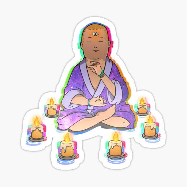 Enlightenment Bobby Sticker