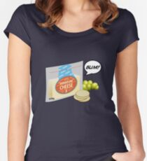 Immature Cheese Women's Fitted Scoop T-Shirt