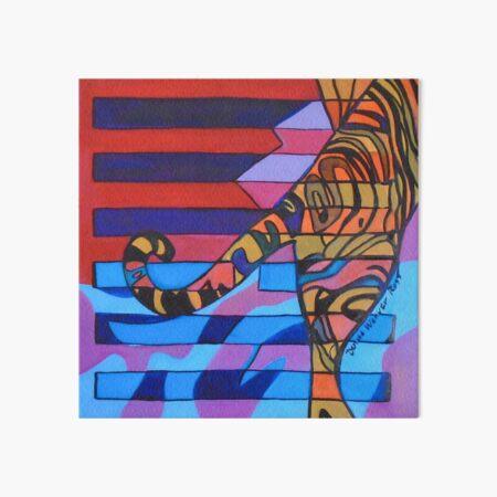 Hexagram 10: Lü (Tread Lightly) Art Board Print