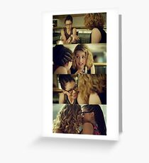 Delphine and Cosima - Orphan Black Greeting Card
