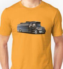 Cartoon Shuttle Bus Unisex T-Shirt