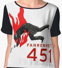 Fahrenheit 451 Women's Chiffon Top