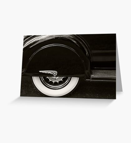 Dodge Skirt Greeting Card