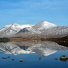 Loch na h-Achlaise reflection by beavo