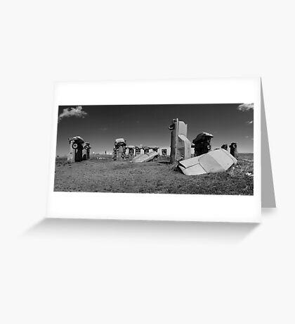 Carhenge Greeting Card