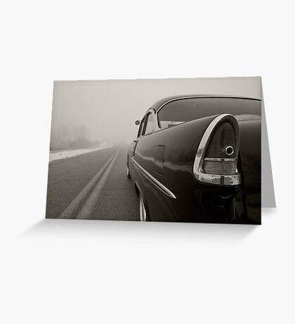 'Into the Fog' Greeting Card