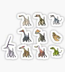 Pterosaurs Sticker