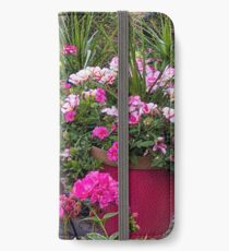 Stop and Smell the Flowers iPhone Wallet/Case/Skin