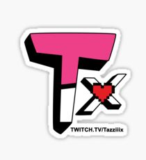 Tazziiix Game Logo Twitch Sticker
