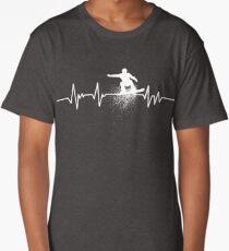 Heartbeat Snowboarding Long T-Shirt