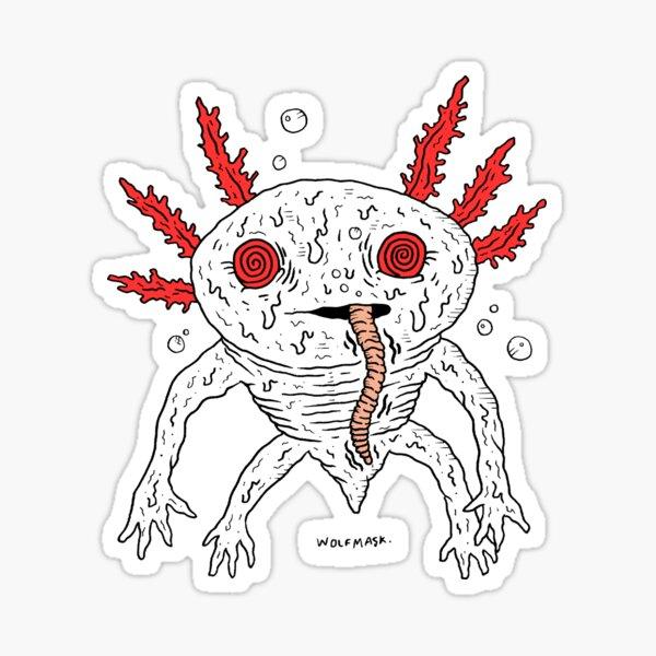 Axylotl Sticker