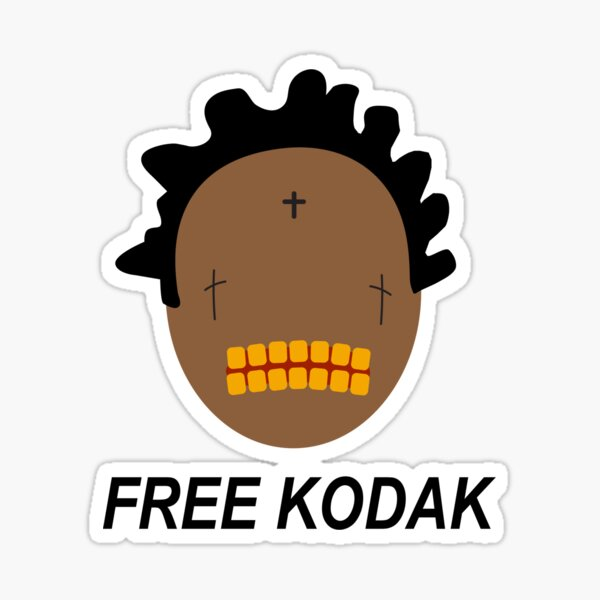 Kostenloses Kodak (Kodak Schwarz) -Projekt Baby T-Shirt Sticker
