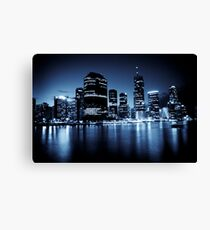 Brisbane Nitelife Canvas Print
