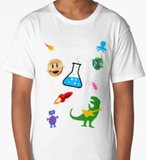 I Love Science Long T-Shirt