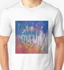 Jewel Of Nature - Semi Abstract With Woodland Bird Unisex T-Shirt