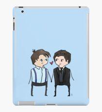 Jack And Ianto Chibis iPad Case/Skin