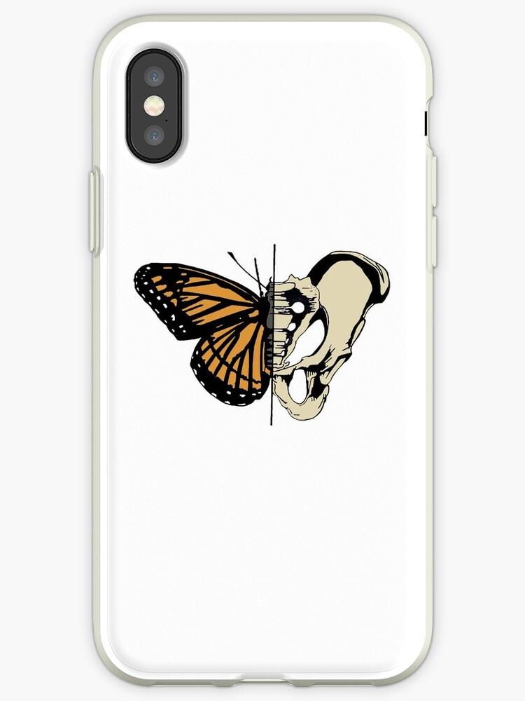 Butterfly Hip Skeleton Bone Metamorphosis Iphone Cases Covers