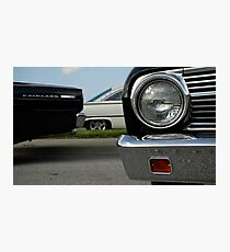 Trio of Fords Photographic Print