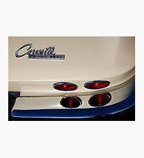 Corvette Stingray Photographic Print