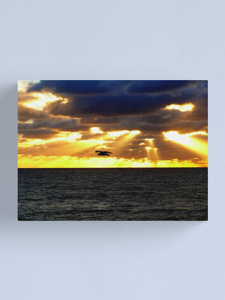 Alternate view of Farewell Canvas Print
