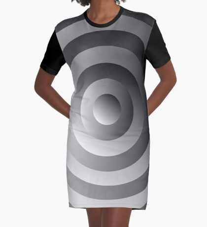 NDVH Circle Nine B Graphic T-Shirt Dress