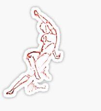 Power dance victory Sticker