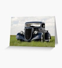 Ford Pickup Greeting Card