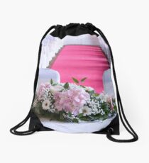 Waiting for the Bride and Groom Drawstring Bag
